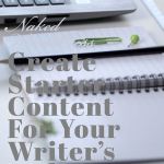 Naked WordPress: Create Starter Content For Your Writer's Website