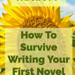 New Author? How To Survive Writing Your First Novel
